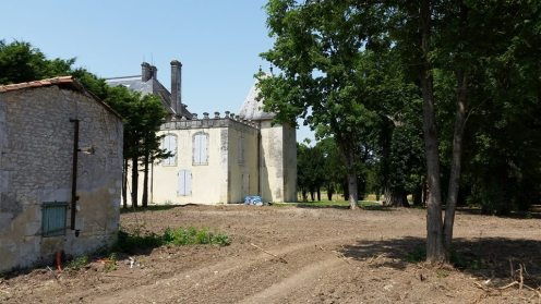 Side of the Chateau