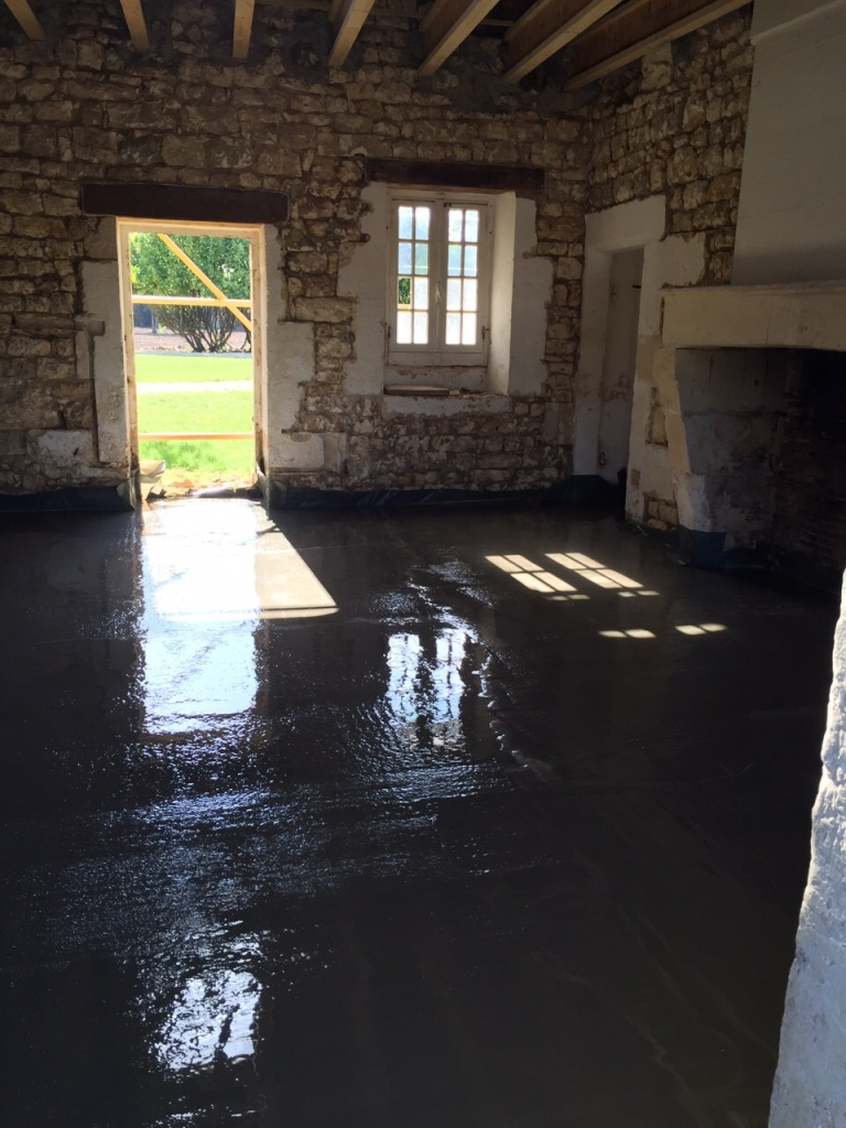 Floor done in House one