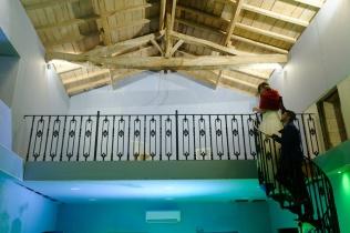 Wedding Reception barn After