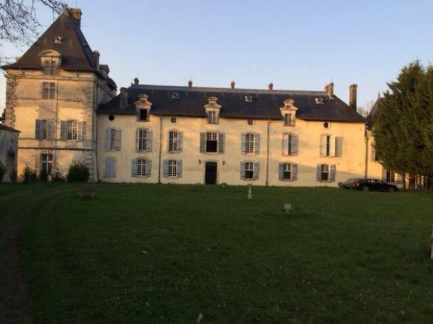 The front of the Chateau before