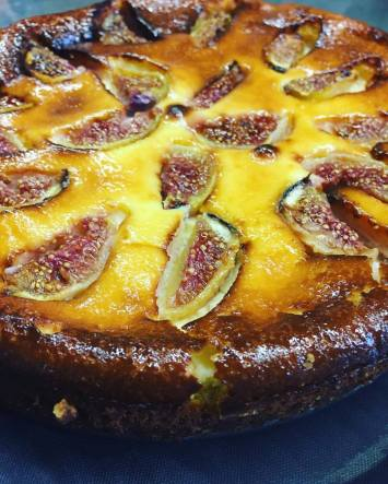 Fig Cheese Cake