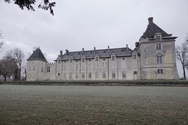 Château in the Frost